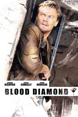 Blood Diamond - 11 x 17 Movie Poster - Style K