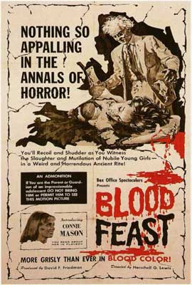 Blood Feast - 27 x 40 Movie Poster - Style A
