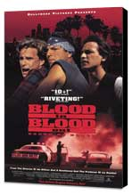 Blood In . . . Blood Out: Bound by Honor - 27 x 40 Movie Poster - Style B - Museum Wrapped Canvas