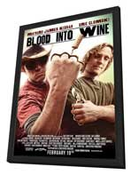 Blood Into Wine - 27 x 40 Movie Poster - Style A - in Deluxe Wood Frame