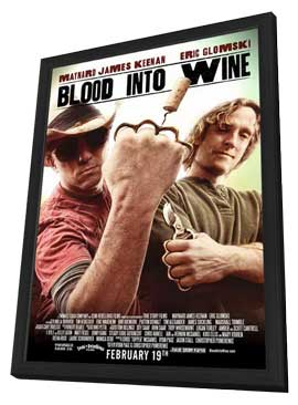Blood Into Wine - 11 x 17 Movie Poster - Style A - in Deluxe Wood Frame
