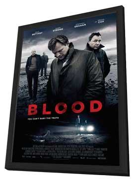 Blood - 27 x 40 Movie Poster - Style A - in Deluxe Wood Frame