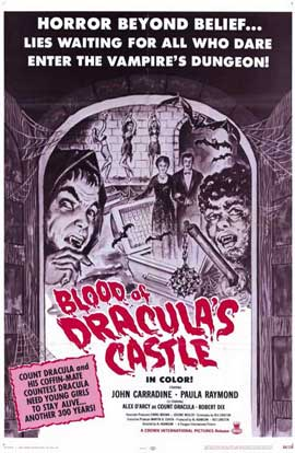 Blood of Dracula's Castle - 11 x 17 Movie Poster - Style A