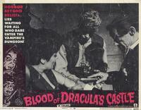 Blood of Dracula's Castle - 11 x 14 Movie Poster - Style D