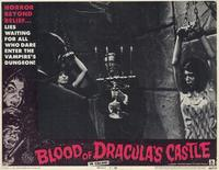 Blood of Dracula's Castle - 11 x 14 Movie Poster - Style G