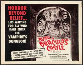 Blood of Dracula's Castle - 11 x 14 Movie Poster - Style I
