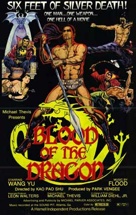 Blood of the Dragon - 11 x 17 Movie Poster - Style A