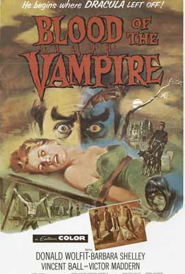 Blood of the Vampire - 27 x 40 Movie Poster - Style B