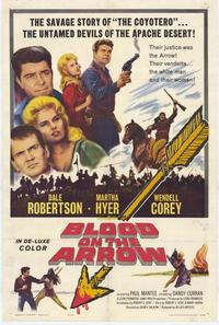 Blood on the Arrow - 11 x 17 Movie Poster - Style A