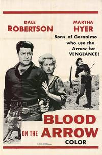Blood on the Arrow - 11 x 17 Movie Poster - Style B