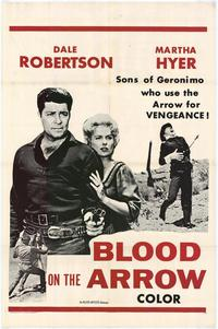 Blood on the Arrow - 27 x 40 Movie Poster - Style B