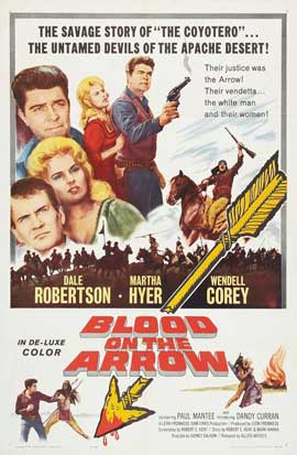Blood on the Arrow - 11 x 17 Movie Poster - Style C