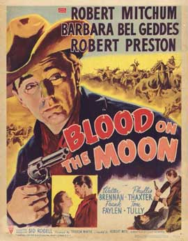 Blood on the Moon - 11 x 17 Movie Poster - Style A