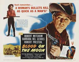 Blood on the Moon - 11 x 14 Movie Poster - Style A