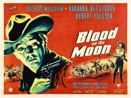 Blood on the Moon - 11 x 14 Movie Poster - Style B