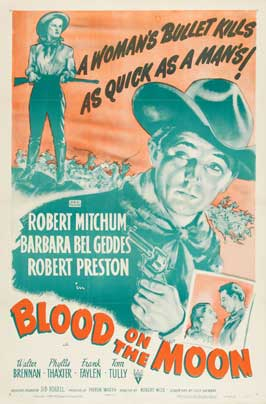 Blood on the Moon - 11 x 17 Movie Poster - Style B