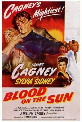 Blood on the Sun - 27 x 40 Movie Poster - Style A