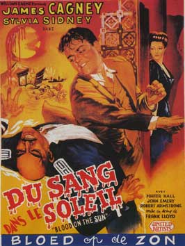 Blood on the Sun - 11 x 17 Movie Poster - Belgian Style A