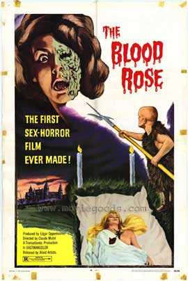 Blood Rose - 11 x 17 Movie Poster - Style A