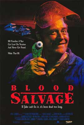Blood Salvage - 11 x 17 Movie Poster - Style A