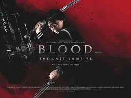 Blood: The Last Vampire - 11 x 17 Movie Poster - Style B