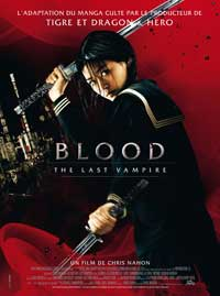 Blood: The Last Vampire - 11 x 17 Movie Poster - French Style A