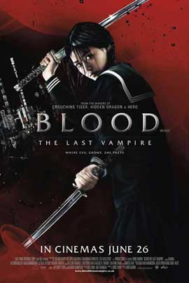 Blood: The Last Vampire - 11 x 17 Movie Poster - UK Style A