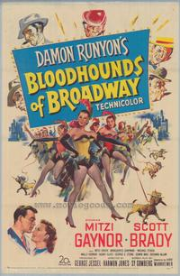 Bloodhounds of Broadway - 43 x 62 Movie Poster - Bus Shelter Style A