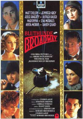 Bloodhounds of Broadway - 11 x 17 Movie Poster - German Style A