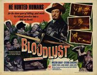 Bloodlust - 22 x 28 Movie Poster - Half Sheet Style A