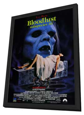 Bloodlust:  Subspecies 3 - 11 x 17 Movie Poster - Style A - in Deluxe Wood Frame