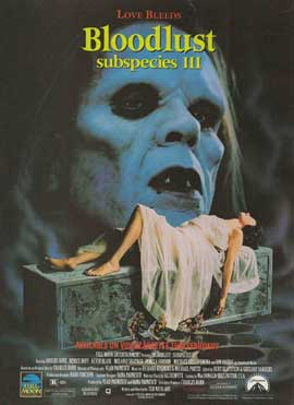 Bloodlust: Subspecies III - 27 x 40 Movie Poster - Style A