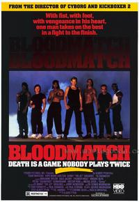 Bloodmatch - 27 x 40 Movie Poster - Style A