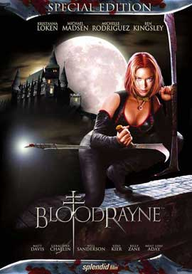 BloodRayne - 11 x 17 Movie Poster - German Style A