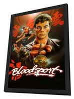 Bloodsport - 11 x 17 Movie Poster - Style C - in Deluxe Wood Frame