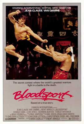 Bloodsport - 11 x 17 Movie Poster - Style A