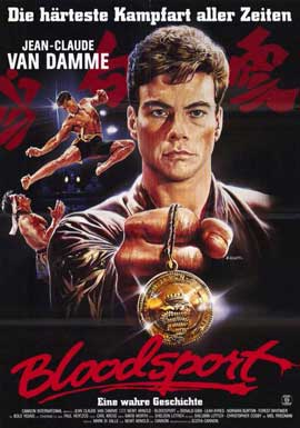 Bloodsport - 11 x 17 Poster - Foreign - Style A