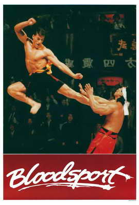 Bloodsport - 27 x 40 Movie Poster - Style B