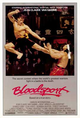 Bloodsport - 27 x 40 Movie Poster - Style A