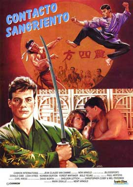 Bloodsport - 27 x 40 Movie Poster - Spanish Style A