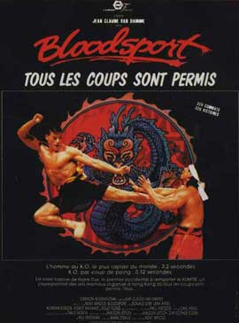 Bloodsport - 11 x 17 Movie Poster - Style D