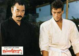 Bloodsport - 11 x 14 Movie Poster - Style G