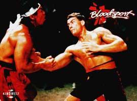 Bloodsport - 11 x 14 Movie Poster - Style K
