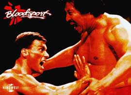 Bloodsport - 11 x 14 Movie Poster - Style M