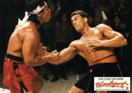 Bloodsport - 11 x 14 Movie Poster - Style Q