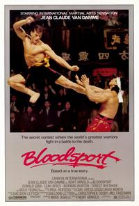 Bloodsport - 11 x 17 Movie Poster - Style A - Museum Wrapped Canvas
