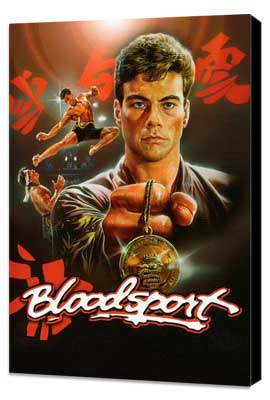 Bloodsport - 11 x 17 Movie Poster - Style C - Museum Wrapped Canvas