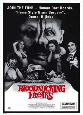 Bloodsucking Freaks - 27 x 40 Movie Poster - Style A