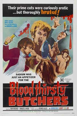 Bloodthirsty Butchers - 11 x 17 Movie Poster - Style A