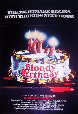 Bloody Birthday - 11 x 17 Movie Poster - Style A